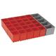 Bosch ORG72-RED Click and Go 26-Piece Organizer Set for i-BOXX72