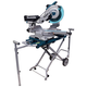 Makita LS1216LX4 12 in. Dual Slide Compound Miter Saw with Laser Guide and Stand