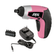 Skil 2354-06 4V Limited Edition Pink IXO Compact Max Lithium-Ion Driver with 5-Piece Bit Set
