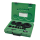 Greenlee 50034790 19-Piece Industrial Maintenance Bi-Metal Hole Saw Kit for 3/4 in. to 4-3/4 in. Conduit