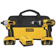 Dewalt DCK274L 18V XRP Cordless Lithium-Ion 1/2 in. Hammer Drill and Impact Driver Combo Kit