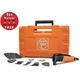 Fein 69908195191 MultiMaster Select Plus Oscillating Tool Kit with FREE Long-Life E-Cut Blade Set