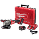 Milwaukee 2781-22 M18 FUEL 18V Cordless 4-1/2 in. - 5 in. Slide Switch Grinder with Lock-On and 2 REDLITHIUM Batteries