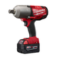 Milwaukee 2764-22 M18 FUEL 18V Cordless 3/4 in. High Torque Impact Wrench with Friction Ring with 2 REDLITHIUM Batteries