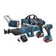 Bosch CLPK432-181 18V Cordless Lithium-Ion 4-Tool Combo Kit