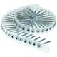 SENCO 06C162CB 1-5/8 in. #6 Clear Zinc Drywall Screws (4,000-Pack)