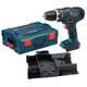 Bosch HDS181BL 18V Cordless Lithium-Ion Compact Tough 1/2 in. Hammer Drill Driver with L-BOXX-2 and Exact-Fit Insert