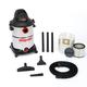 Shop-Vac 5986200 12 Gallon 6.0 Peak HP Stainless Steel Wet/Dry Vacuum
