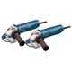 Bosch AG40-85PD-2P 4-1/2 in. 8.5 Amp Angle Grinder with No Lock-On Paddle Switch (2-Pack)