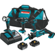 Makita XT444MR 18V LXT Cordless Lithium-Ion 4-Tool Brushless Combo Kit