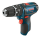 Bosch PS130B 12V Max Cordless Lithium-Ion 3/8 in. Ultra Compact Hammer Drill (Bare Tool)