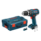 Bosch HDS182BL 18V Cordless Lithium-Ion 1/2 in. Brushless Compact Tough Hammer Drill Driver (Bare Tool) with L-BOXX 2 Case & ExactFit Insert Tray