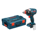 Bosch IDH182BL 18V Cordless Lithium-Ion Brushless Socket Ready Impact Driver (Bare Tool) with L-BOXX 2 Case & ExactFit Insert Tray