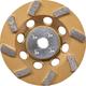 Makita A-96403 4-1/2 in. Anti-Vibration 8 Segment Turbo Diamond Cup Wheel