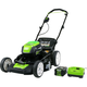 Greenworks 2501202 Pro 80V Cordless Lithium-Ion 21 in. 3-in-1 Lawn Mower