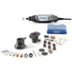 Dremel 401827 120V 1.2 Amp Variable Speed Rotary Tool Kit with 2 Accessories and 28 Attachments