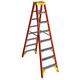 Werner T6208 8 ft. Type IA Fiberglass Twin Ladder