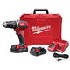 Milwaukee 2607-22CT M18 18V Cordless Lithium-Ion 1/2 in. Hammer Drill Driver Kit