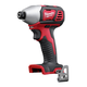 Milwaukee 2656-20 M18 18V Cordless Lithium-Ion 1/4 in. Hex Impact Driver (Tool Only)