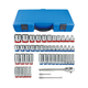 KT PRO A3505CR 47-Piece 3/8 in. Drive SAE & Metric Socket Set