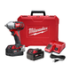 Milwaukee 2658-22 M18 18V Cordless Lithium-Ion 3/8 in. Impact Wrench Kit with Friction Ring