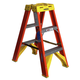 Werner T6203 3 ft. Type IA Fiberglass Twin Ladder