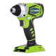 Greenworks 37032A G-24 24V Cordless Lithium-Ion 1/4 in. Hex Impact Driver (Bare Tool)