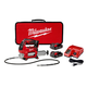 Factory Reconditioned Milwaukee 2646-82CT M18 18V Cordless Lithium-Ion 2-Speed Grease Gun with 2 Batteries