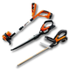 Worx WG953.51 20V Lithium-Ion 3-Piece Outdoor Tool Combo Kit