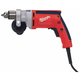 Factory Reconditioned Milwaukee 0200-80 7 Amp 0 - 1200 RPM 3/8 in. Corded Magnum Drill with Keyed Chuck