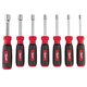 Milwaukee 48-22-2417 7-Piece Hollow Shaft Metric Nut Driver Set