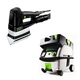 Festool PN567852 Duplex Linear Detail Sander with CT MINI HEPA 2.6 Gallon Mobile Dust Extractor