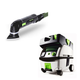 Festool PN567856 Deltex Detail Sander with CT MINI HEPA 2.6 Gallon Mobile Dust Extractor
