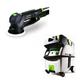 Festool PI571782 Rotex 5 in. Multi-Mode Sander with CT MIDI HEPA 3.3 Gallon Mobile Dust Extractor