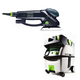 Festool PI571810 Rotex 6 in. Multi-Mode Sander with CT MIDI HEPA 3.3 Gallon Mobile Dust Extractor