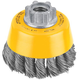 Dewalt DW4910 3 in. x 0.020 in. Carbon Steel Cup Brush