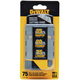 Dewalt DWHT11004 Utility Knife Blades (75-Pack)
