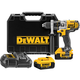 Factory Reconditioned Dewalt DCD985M2R 20V MAX Cordless Lithium-Ion 1/2 in. Premium 3-Speed Hammer Drill Kit with 4.0 Ah Batteries