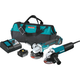 Makita DK0060MX1 18V LXT Cordless Lithium-Ion 4-1/2 in. Angle Grinder and Corded Angle Grinder Kit