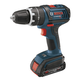 Factory Reconditioned Bosch HDS181-01-RT 18V Cordless Lithium-Ion Compact Tough 1/2 in. Hammer Drill Driver with 2 Fat Pack HC Batteries