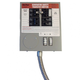 Generac 6376 30 Amp 6 Circuit 125/250V Manual Transfer Switch for Generators up to 7.5 kW