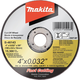 Makita B-46143 4 in. x .032 in. x 5/8 in. Ultra Thin Cut-Off Grinding Wheel