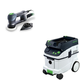 Festool PAC571823 Rotex 3-1/2 in. Multi-Mode Sander with CT 36 AC 9.5 Gallon Mobile Dust Extractor