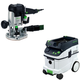 Festool PAC574339 Plunge Router with CT 36 AC 9.5 Gallon Mobile Dust Extractor