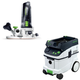 Festool PAC574368 Modular Trim Router with CT 36 AC 9.5 Gallon Mobile Dust Extractor