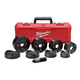 Milwaukee 49-16-2695 EXACT 2-1/2 - 4 in. 9-Piece Knockout Set