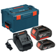 Bosch SKC181-303L 18V Lithium-Ion Batteries and Charger with L-Boxx-3 Storage Case