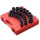 Sunex 4692 26-Piece 3/4 in. Drive Metric Impact Socket Set