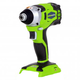 Greenworks 37042A G24 24V Cordless DigiPro Lithium-Ion 1/4 in. Hex Impact Driver (Bare Tool)
