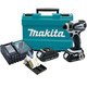 Makita LXDT04CWX1 18V Cordless Compact Lithium-Ion Impact Driver Kit with FREE Impact Gold 11 Pc. Bit Set